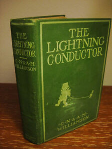 Limited-Edition-Lightning-Conductor-C-N-amp-A-M-Williamson-Novel-Fiction