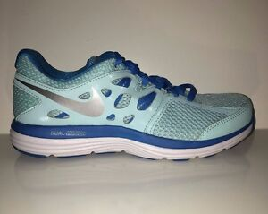 NEW Nike Womens Dual Fusion Lite Blue Running Sneakers Shoes sz 6.5