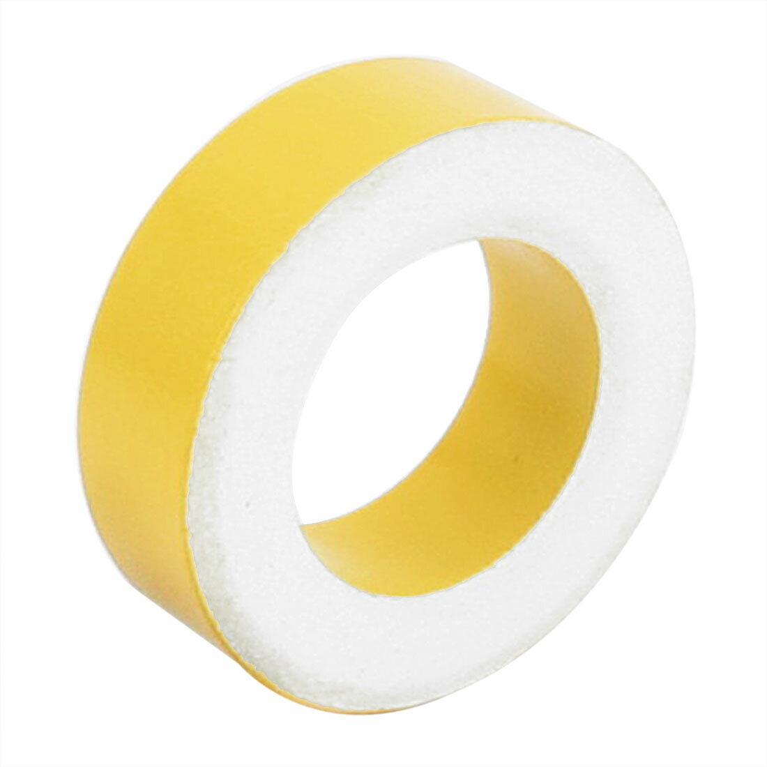 50pc T50-26 Yellow White 7.5mm Inner Diameter Ferrite Ring Iron Toroid Cores UK