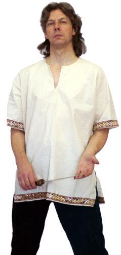Medieval//LARP//SCA//ROMAN//GREEK Re-enactment SHIRT WITH SLEEVES SML-XXXXL