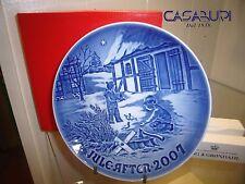 ROYAL COPENHAGEN PIATTO DI NATALE BING&GRONDHAL ANNO 2007,plate