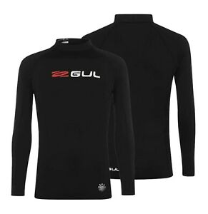 Mens-Gul-Long-Sleeve-Surfing-Waterproof-Casual-Rash-Vest-Top-Sizes-from-S-to-XL