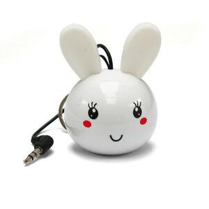 Sound2Go-Mini-White-Rabbit-Keyring-Speaker