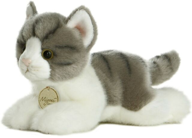 "Aurora - Miyoni - 8"" Grey Tabby Cat"