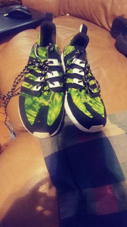 Adidas SL talla Loop corredor verde Camo talla SL 6 Negro manzana Flux ZX Boost marca blanca descuento 8e4de5