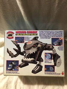 New Vintage Mattel Street Sharks Action Robot Figure Figure Robot 1995