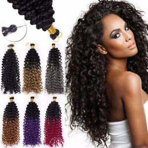 Image Is Loading Marlybob Deep Wave Curly Crochet Braiding Braids Hair