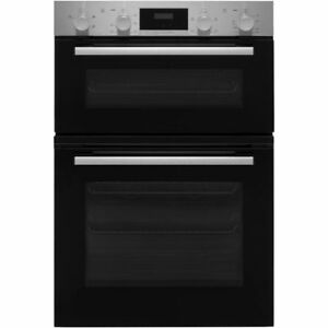 Details About Bosch Mhs113br0b Serie 2 Built In 59cm A B Electric Double Oven Stainless Steel