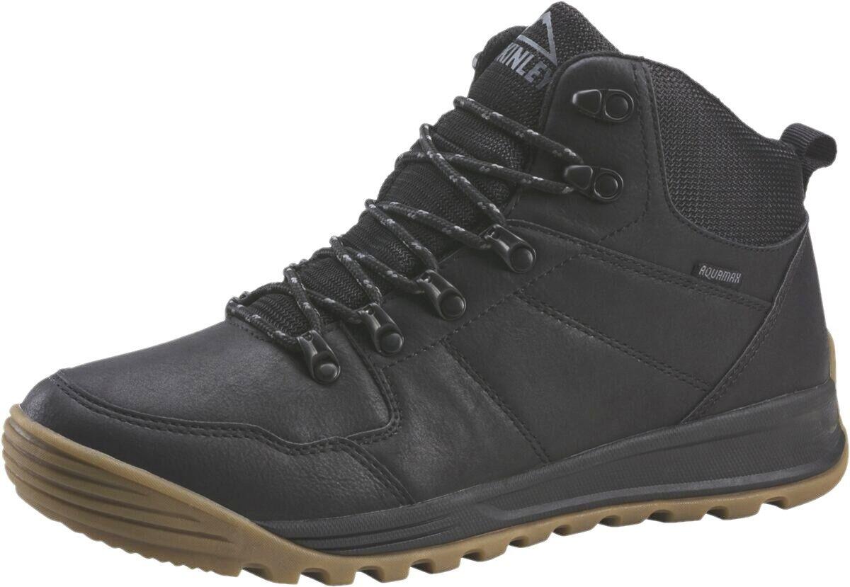 McKINLEY Herren Leder Winter Outdoor Stiefel Daniel AQX AQUAMAX Stiefel 282186 Neu