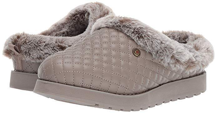 Skechers Women's Bobs Keepsakes Snug Bug Quilted Slipper Memory Foam 31211 Tpe