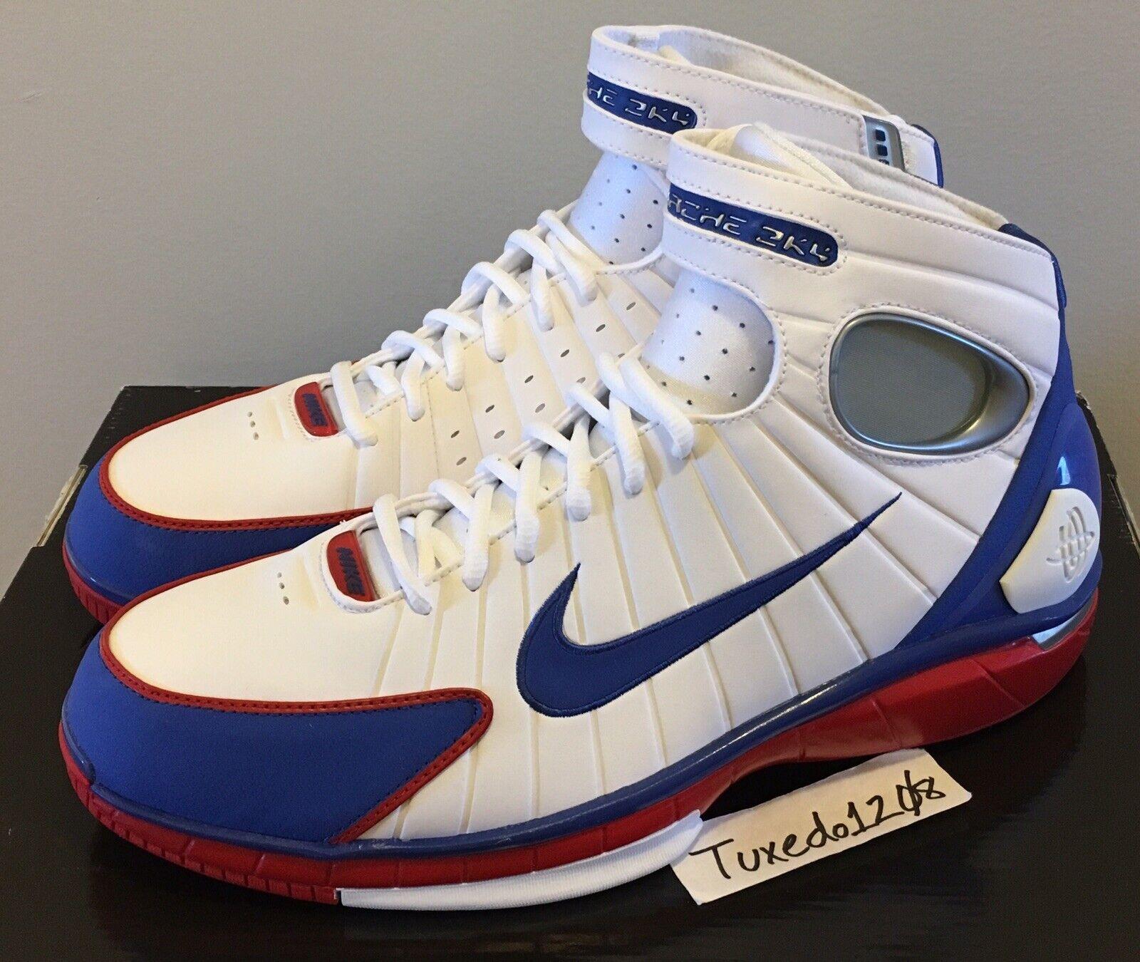 DS Nike Air Zoom Huarache 2K4 sz11.5 Kobe LA ASG v Olympics USA 308475 100