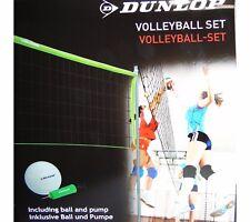 Volleyball Komplettset Ball Netz Netzstange Pumpe Beach Volley Ball Sport Set