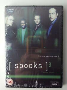 Spooks-TV-Series-Season-3-PAL-DVD-Keeley-Hawes-Rupert-Penry-Jones-Peter-Firth