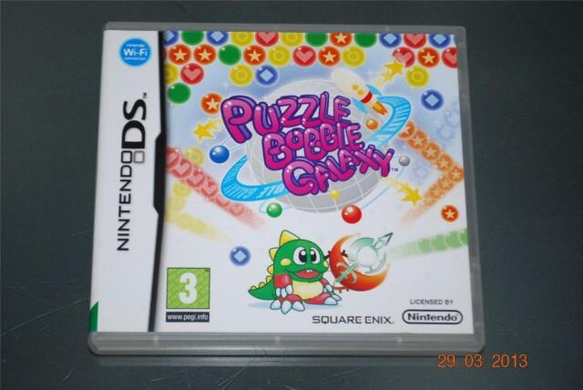 Puzzle Bobble Galaxy Nintendo DS 3DS UK Game **FREE UK POSTAGE**