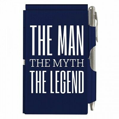 Business & Industrial #1927 The Man The Myth The Legend Flip Note W/pen Pocket Purse Size Paper Pad 50% OFF