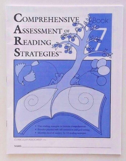 ANSWERS Comprehensive Assessment Reading Strategies Comprehension 7th Grade 7