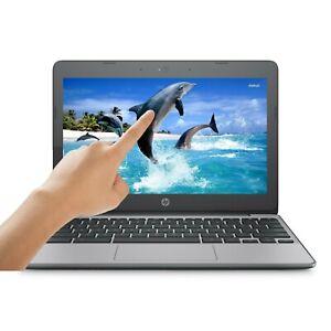 HP-Chromebook-11-HD-TOUCH-Intel-Dual-Core-2-48GHz-16GB-eMMC-4GB-RAM-WEBCAM-Mic