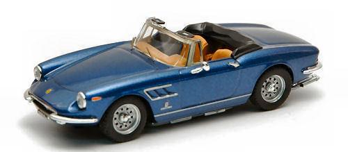 FERRARI 330 GTS 1968 blu Metallic 1 43 Model Best MODELS