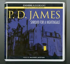 Shroud-For-A-Nightingale-by-P-D-James-Unabridged-Audiobook-8CDs