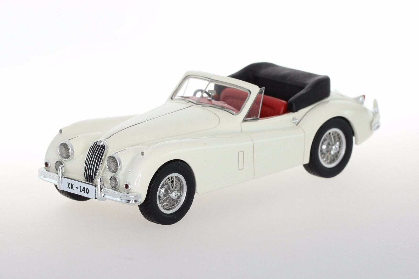 1 43 Jaguar XK140 Drop Head Coupe 1954-1957 Century Dragon High-end Resin Cream
