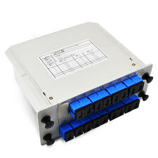 Single mode SC/UPC 1*16 1x16, 1 to 16 Module Fiber Optical PLC Splitter