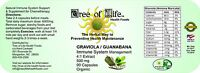 Graviola Guanabana 4:1 Extract Sale 90 Organic Vegetarian Caps 500mg Usa