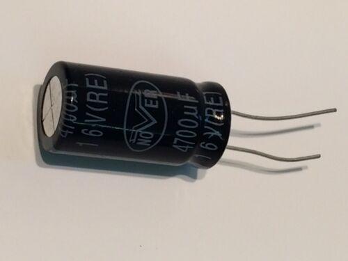 4700UF 16V RADIAL ELECTROLYTIC NOVER RE SERIES   fd1h11
