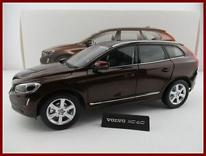 volvo xc60 2015 in braun motor city classic ma stab 1 18 ovp neu ebay. Black Bedroom Furniture Sets. Home Design Ideas