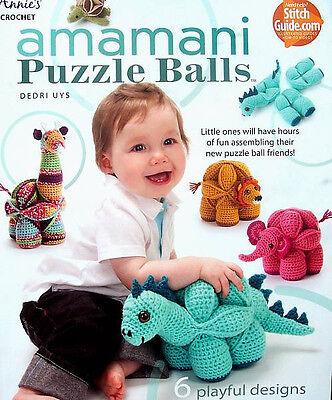 Crochet  Amamani Puzzle Balls  Patterns Annie's