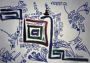 Margarita-Bonke-Malerei-A3-PAINTING-art-abstrakt-Landschaft-landscape-abstract-9