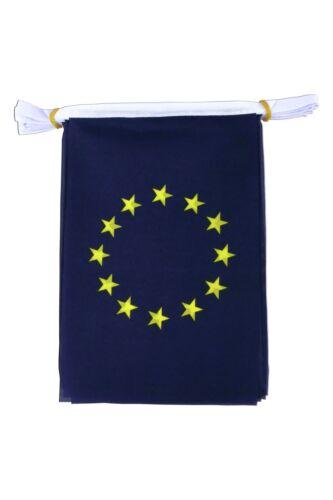 Dire non à la tentation énorme de 10 mètres de l/'UE Euro Union Européenne TISSU DRAPEAUX Bruant