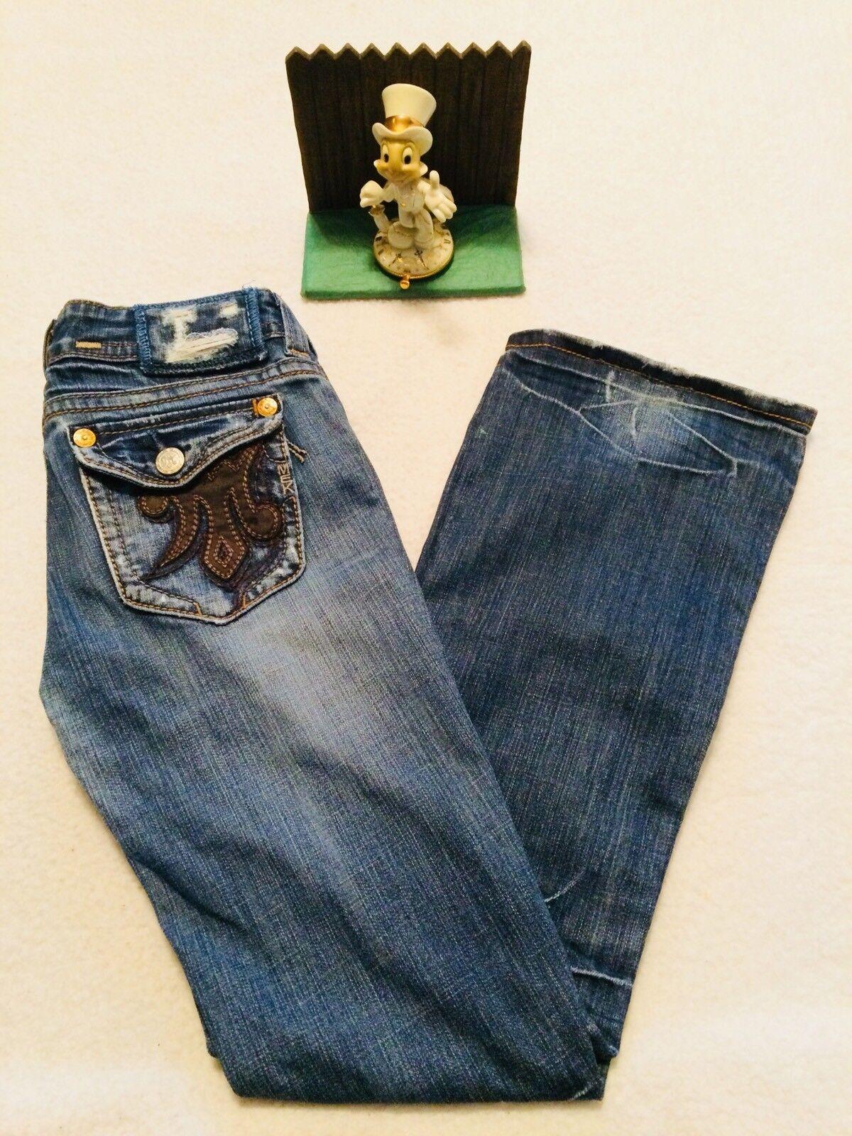 MEK  SINGAPORE  BOOT Cut bluee Jeans - Women Size 27   32 - Minimal Wear.. NICE