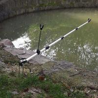 Portable Fishing Pole Rod Stand Bracket Angle Adjustable Fishing Hand Rod Holder