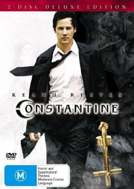 Constantine (DVD, 2005, 2-Disc Set) Keanu Reeves, Rachel Weisz, Shia La Beouf