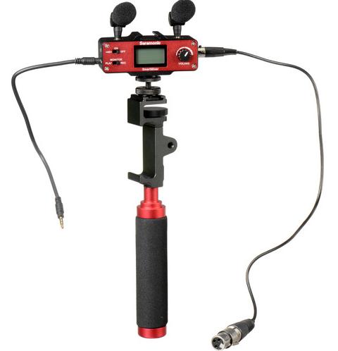 Saramonic SmartMixer - Audio Mixer/Adapter Kit for iOS/Andr w/Mics, Device Ho...