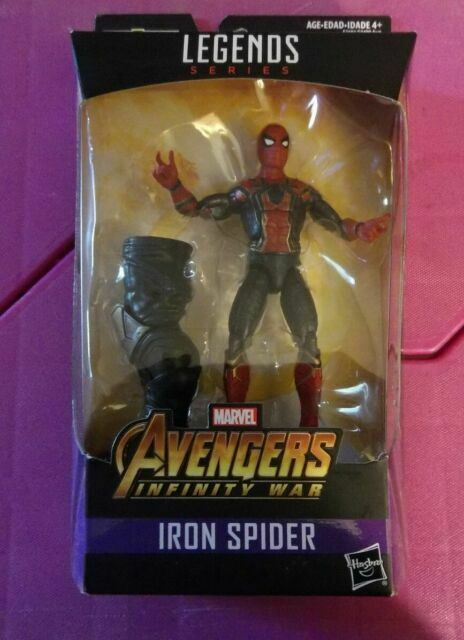 "Marvel Legends Avengers Infinity War Iron Spider 6/"" Action Figure BAF Thanos New"