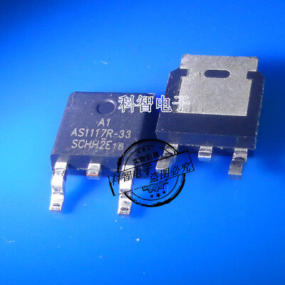 10 x AS1117R-33 AS1117R-3.3 TO-252 800mA Low Dropout Regulator