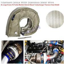 Black Heat Shield Turbo Blanket Large Frame T6 Detroit Diesel Turbocharger