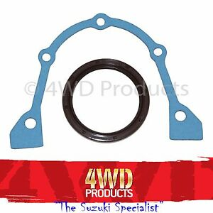 Rear-Crank-Main-Seal-amp-Gasket-Suzuki-Swift-GTi-SA413-SF413-1-3-G13B-DOHC-86-96