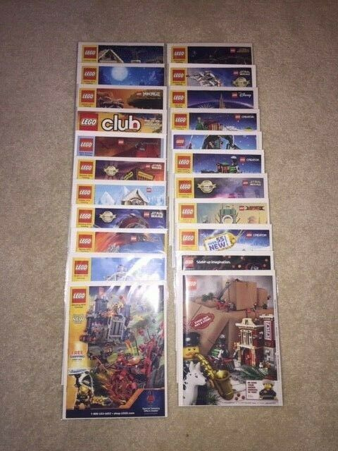 SET OF OF OF (22) LEGO MAGAZINES-VARIOUS YEARS  SEE DESCRIPTION   NICE SET     2bb7d1