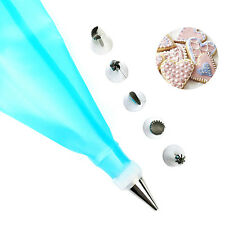 6pcs Russian Piping Ruffle Nozzles Bobbi Skirt Icing Tips Set Cake Cupcake Decor