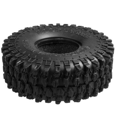 "120MM OD Tire Tyre w// Foam for RC 1//10 1.9/"" Wheel Rims Axial SCX10 D90 Crawler"