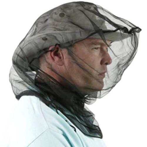Kopfnetz Moskitonetz Insektenschutz Mückenschutz für Kappe Hut Mütze Kopf-Netz