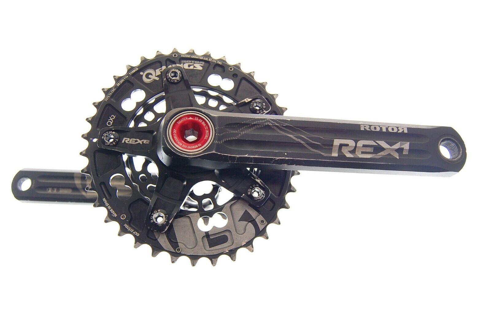 Crankset rotor rex 1.2 rotor qrings dishes (Crankset) (s n b05806)