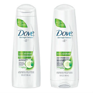dove shampoo and conditioner damage therapy cool moisture combo 12oz