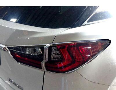 Headlight Bezel Covers For 2016 2017 2018 Kia Sorento Chrome Trims Overlays