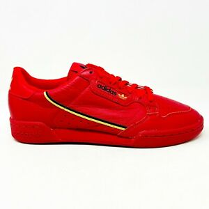Adidas Continental 80 Scarlet Red Gold