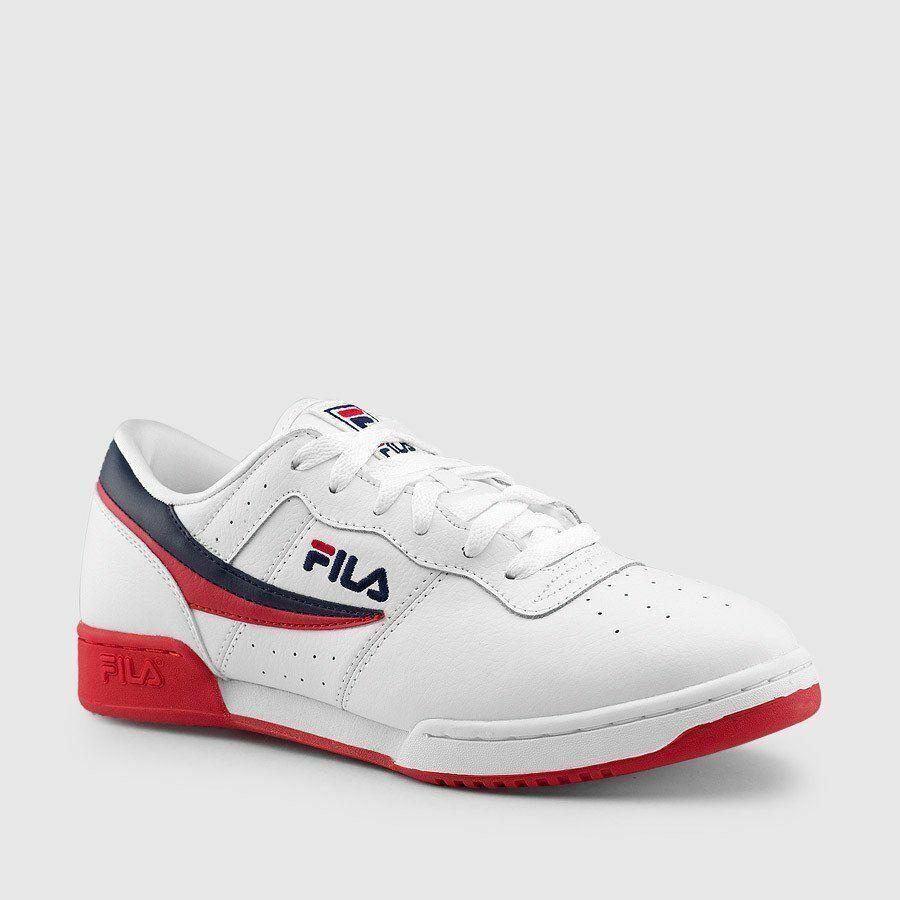 Fila Original Fitness blancoo Rojo-Azul Marino (1FM00080 125)