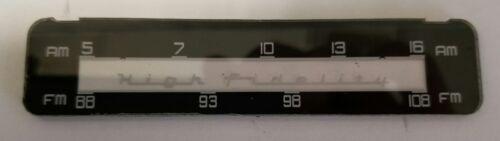 Becker Europa Tube Replacement Dial Scale Mercedes Benz 190SL//Ponton Porsche 356