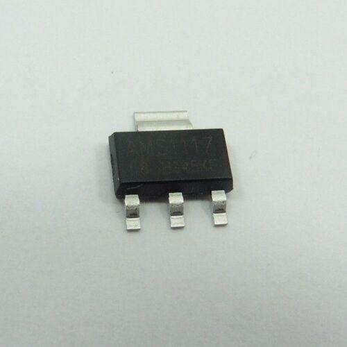 1 A Step Down los reguladores de voltaje Chip AMS1117 LM1117 SOT-223 diferentes fijo